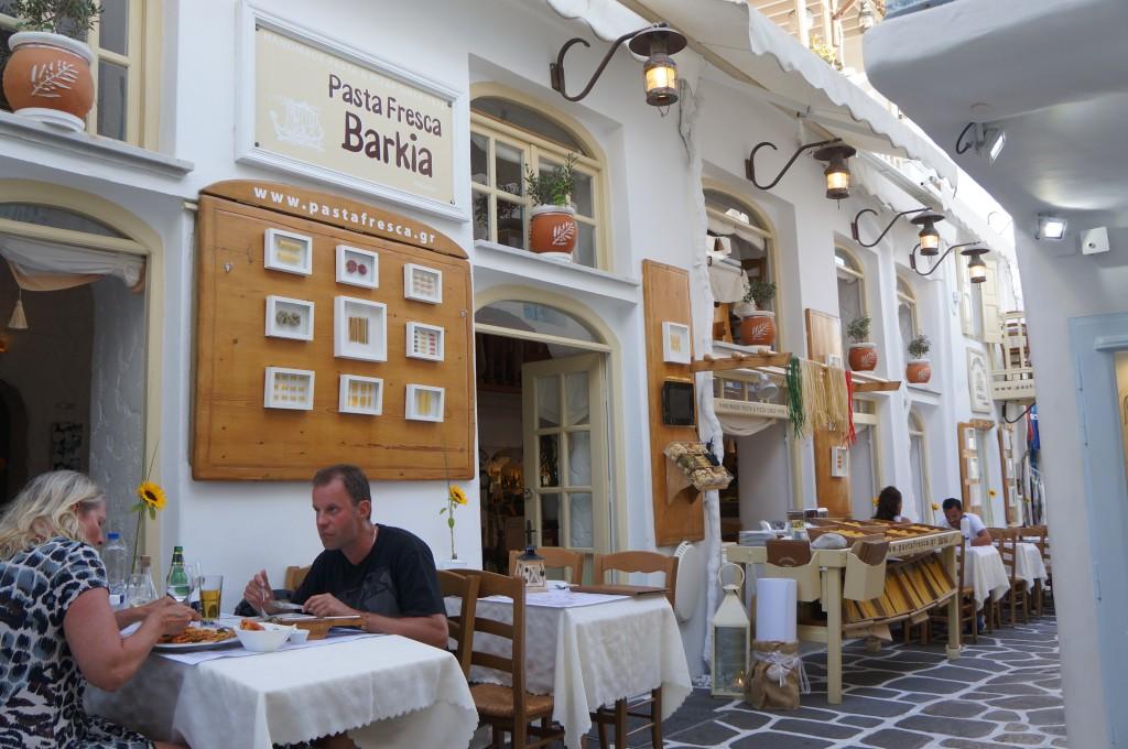 Mykonos best restaurant in chora
