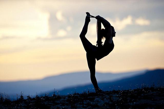 yoga picture regarding healthy lifestyle