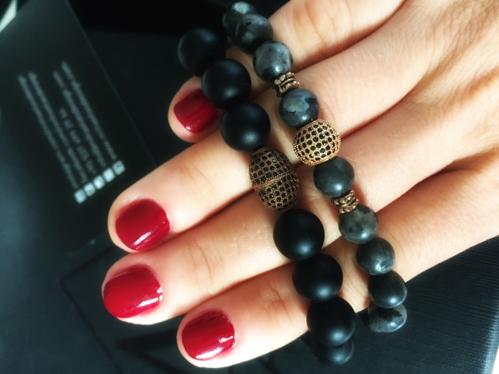 mihaelas design. never have enough bracelets. new brand.