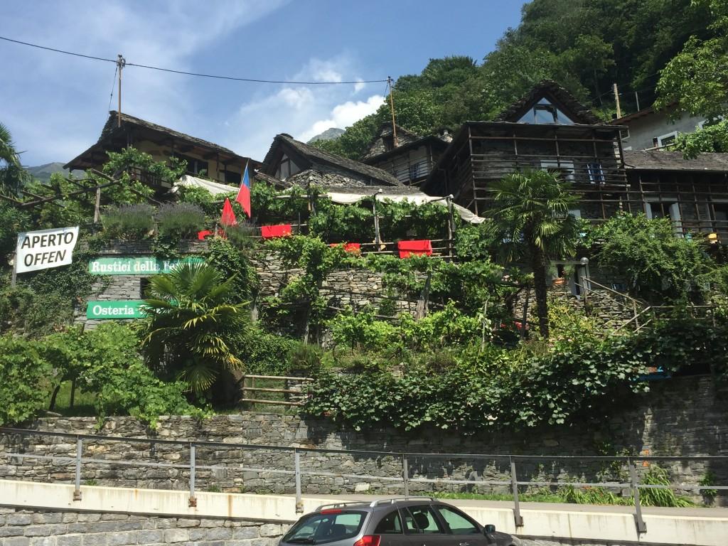 Rustici della Verzasca restaurant and accommodation
