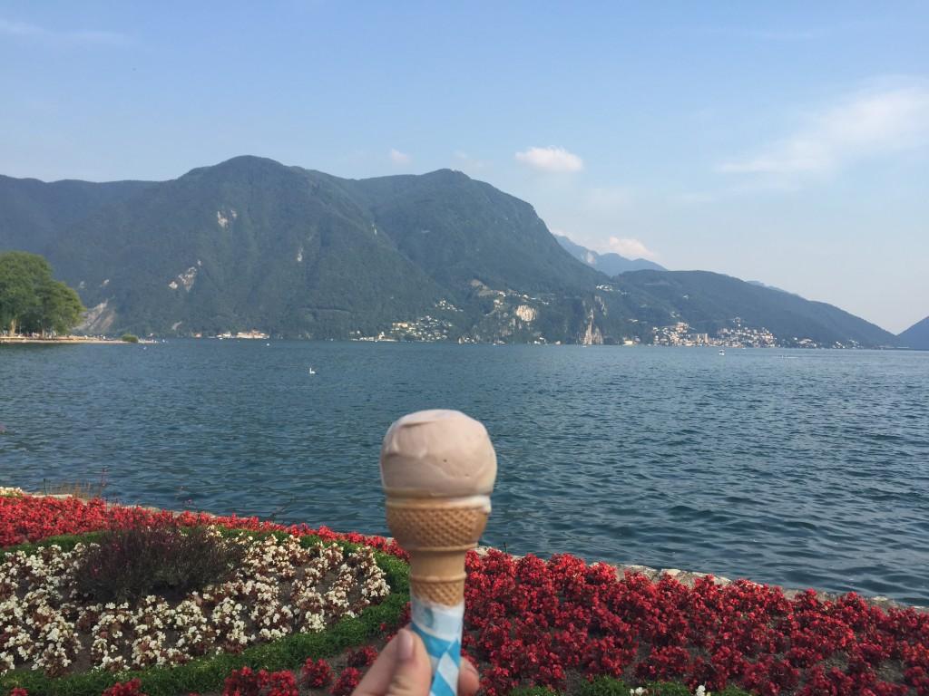 ice cream in Lugano best of switzerland