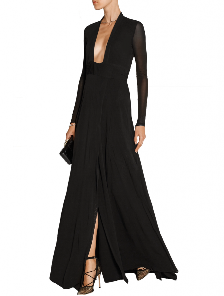 wediing dress - ISSAblack gown dress for wedding