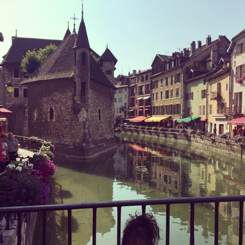 Château d'Annecy in the Old Town - surrounded by the water channel, charming and unique local shops, delicious small restaurants, bakeries and coffeeshops