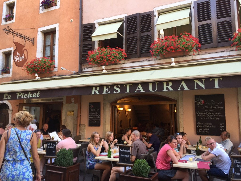 Le Picket Restaurant in Annecy France