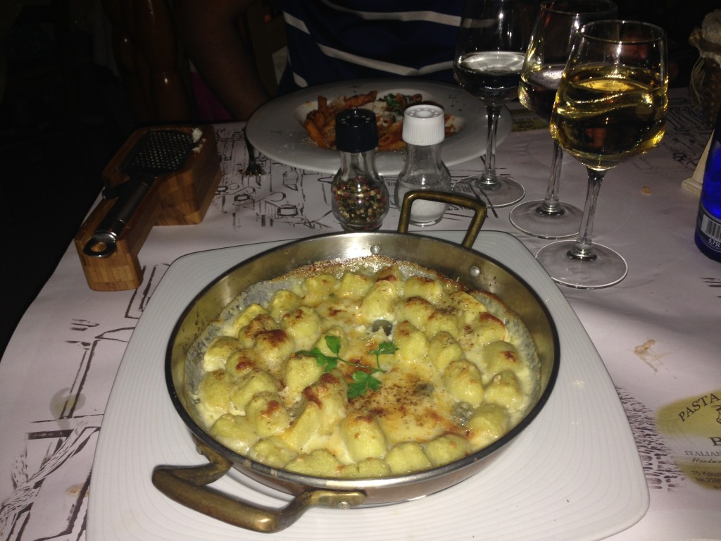 Best pasta gnocchi mykonos