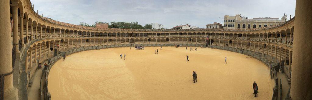 Bull fight arena in ronda spain costa del sol