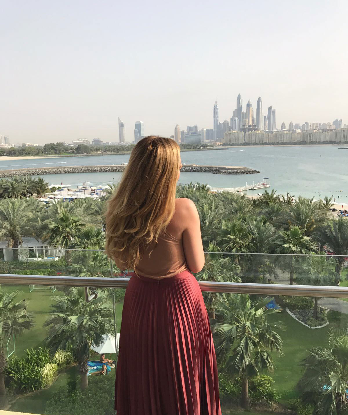 Rixos The Palm Dubai view, best hotel in The Palm