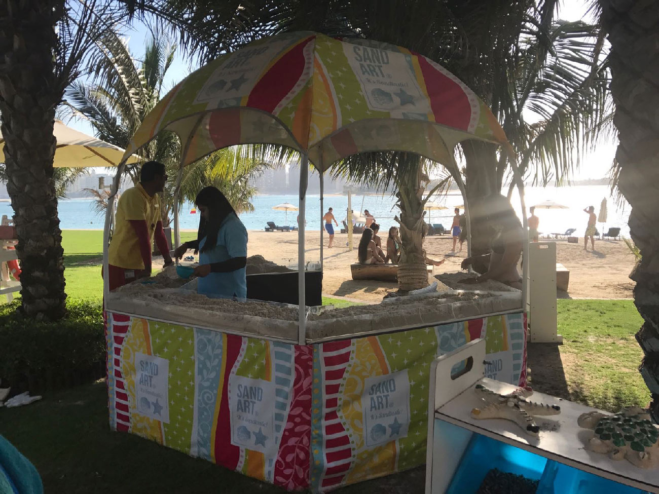 activities for kids in rixos the palm dubai